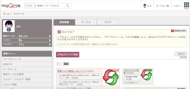 検索流入がないからブログサークルからアクセスを促す