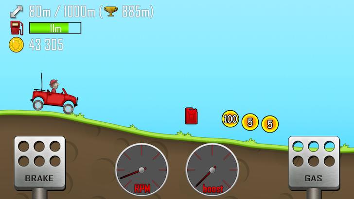Hill Climb Racingをプレイ