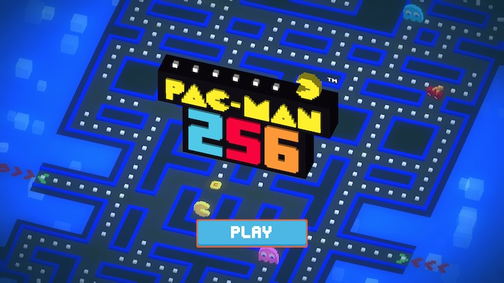 パックマンをプレイ