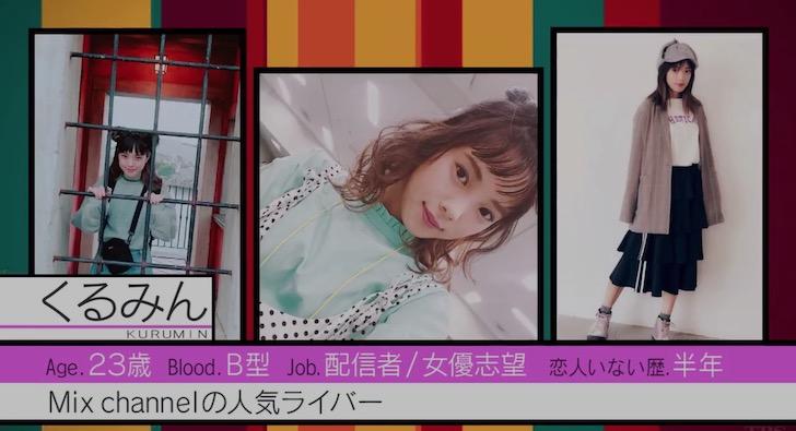 恋んトスシーズン8メンバー:くるみん(中山 来未)