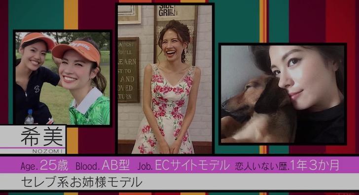 恋んトスシーズン8メンバー:希美(土屋 希美)